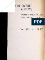 Motion Picture Reviews (1932)