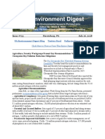Pa Environment Digest July 16, 2018