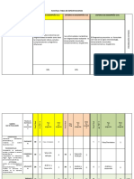 plantilla tabla especificaciones a