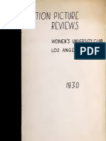 Motion Picture Reviews (1930)