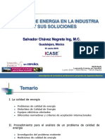 CALIDAD DE ENERGIA EN LA INDUSTRIA Y SUS SOLUCIONES +++++