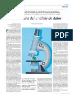BIG DATA. LA CULTURA DEL ANÁLISIS DE DATOS. CASO ESPAÑA