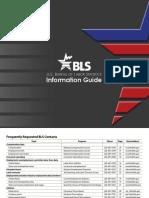 Bureau of Labor Statistics Information Guide