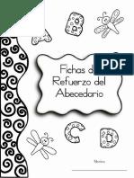 Fichas de Refuerzo Del ABECEDARIO