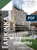 Walter Weberhofer Especial Monografico P