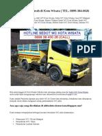 Ahli Sedot WC Murah di Kota Wisata   TEL. 0899-384-0026