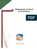 Thalasemia Prevention Control 2018