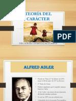 El Cáracter Neurótico. Alfred Adler
