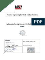 A78857-2 2.21 Hydrostaticting Testing Standard - A5E3L0