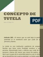 CONCEPTO DE TUTELA.ppt