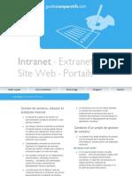 Guide Intranet Extranet Portails