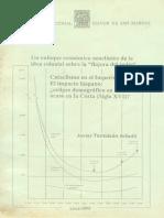 1999-Tantalean-Un-Enfoque-economico Neoclasico de La Idea Colonial Sobre La Flojera Del Indio