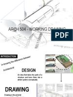 Arch 504 - Working Drawing