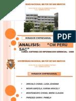 ANALISIS DE SISTEMAS DE INFORMACION -  SIG