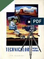 Technicolor News & Views (November 1953)