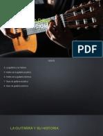 Introducción a La Guitarra, Historia