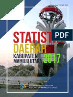 Statistik Daerah Kabupaten Mamuju Utara 2017