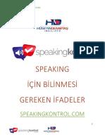 Pratik Speaking Kalıpları v2