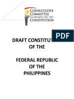 Draft Constitution_Federal Republic of the Philippines