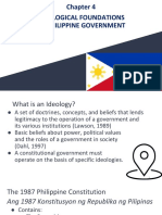 Ch 4 - Ideological Foundations of Philippine Government