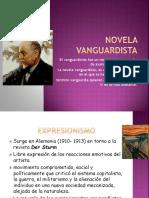 Novela Vanguardista