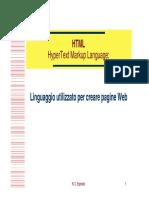Corso HTML Base