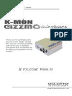 K MON Instruction