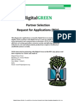 Digital Green Request for Applications