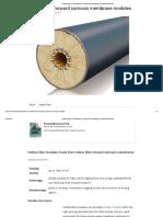 Hollow Fiber FO Membranes in Hollow Fiber Modules _ ForwardOsmosisTech