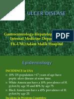 K-16 Peptic Ulcer Disease