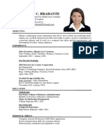 Brabante, Leslie c.-resume