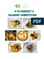Culinary Competition Manual