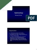 Epistemology Cores