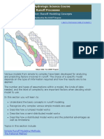 Runoff Processes - Section Five_ Runoff Modeling Concepts