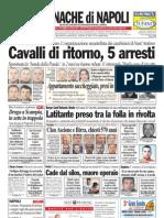 Cronache Di Napoli 14 Aprile 2010