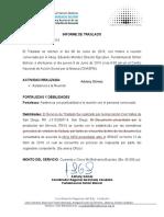 Informe de Traslado Caracas 08062016
