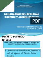 Designacionde Personal 2018