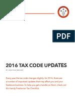 FU TaxResources 2016TaxCodeUpdates