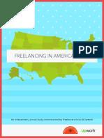 Freelancing in America 2016 Report