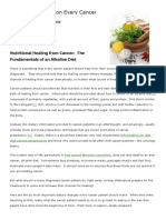 Nutritional Healing From Cancer the Fundamentals of an Alkaline Diet (1)