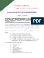 Taxonomie bactérienne