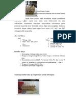 Uji Pengendapan Protein dengan Logam.doc