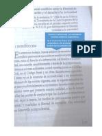 Derecho a La Informacion vs. Derecho a La Intimidad.