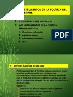 _instrumentos de Politica Ambiental -Economia Ambiental Julio 2018