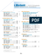 Metric Mechanic - Catalog & Price List