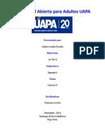 Actividades de la unidad IV español 1.doc