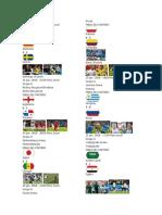 Partidos Del Mundial 2018