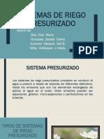Riego Presurizado Diapositivas