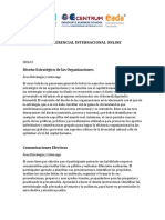 Sumilla MBA Gerencial Internacional Online 2018
