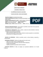 Plan de Clase Mec-multigrado. Taller de Lenguaje